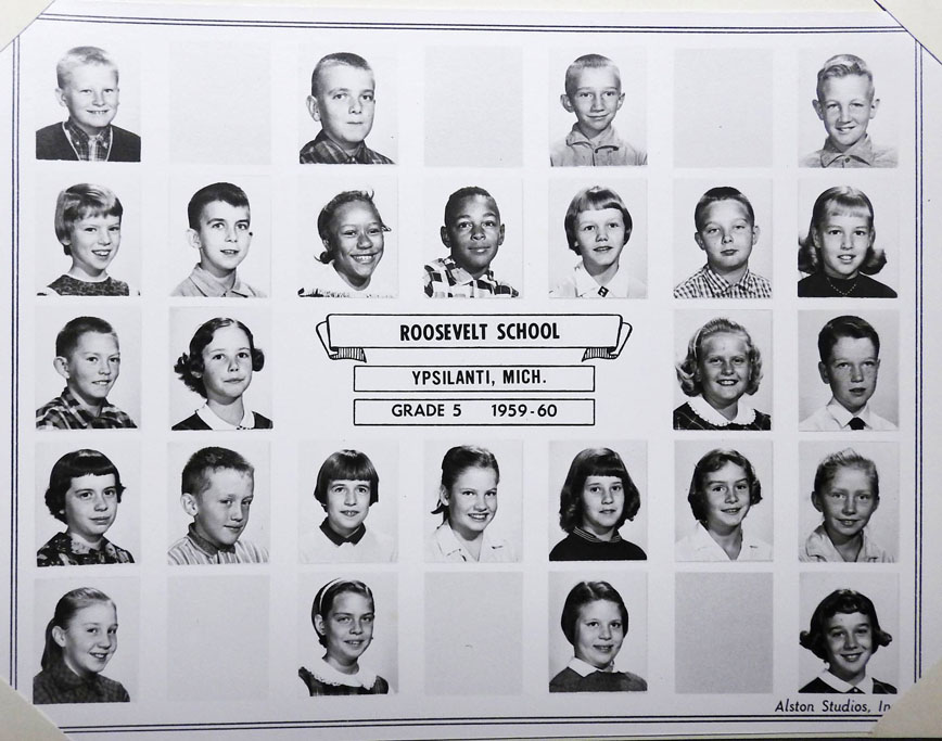 The Class of 67 in 1960